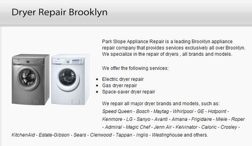 Dryer Repair Brooklyn