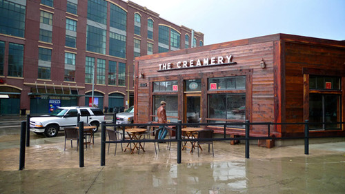 Nice shot of the Creamery (credit: davefayram/Flickr)