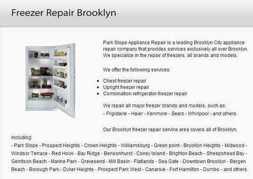 Freeze Repair Brooklyn